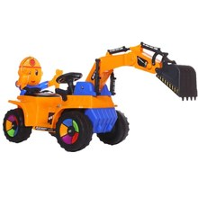 Wholesale Ride on Battery Operated Kids Baby electric toy car excavator truck toy