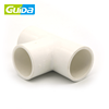 "Ningbo Guida top quality 1"" T-shaped factory price hot salepvc bathroom pipe fitting"
