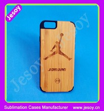 JESOY Mobile Phone Accessories For iphone Case Bamboo, Bamboo Wood Phone Case