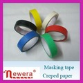 No residue crepe paper painting masking tape