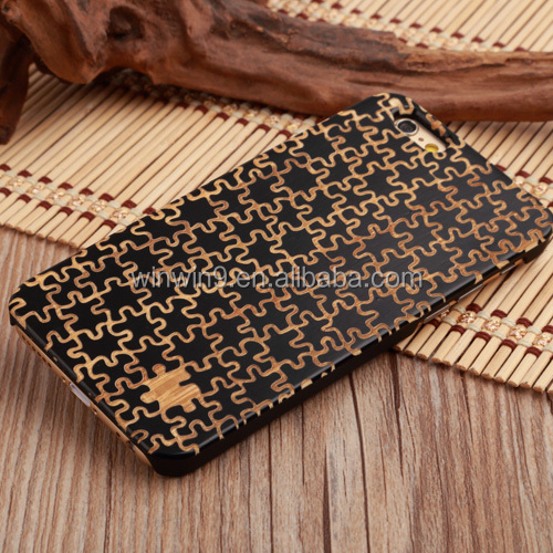 Polish Wood Design Hot Selling Cheap Custom Universal PU Silicon Gel Phone Case For Iphone 6