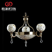 CENYU design classic Die casting crystal Copper chandelier lamp wall light pendant light candle light