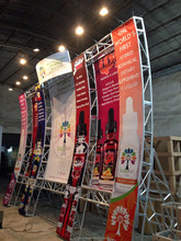 modular exhibition systems aluminum truss trade show booth for trade show