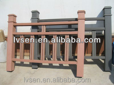 cheapest and best wpc rail,wood plastic composite rail/fencing