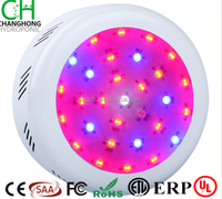 Double chip full spectrum housing green house plant lamp horticulture plant lamp 300w UFO led grow light