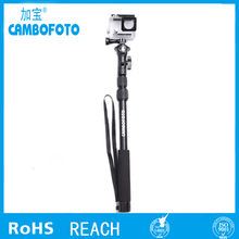 brand new monopod aluminum telescopic pole for gopros accessories