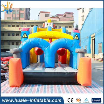 2017 newest robot style inflatable castle/inflatable jumping castle for sale