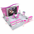 Detian Offer exhibition booth design stand display trade show equipment stall