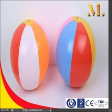 10'' beach ball pvc 6-panel inflatable ball outdoor water toys