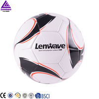 soccer football ball leather high quality Team trainer machine stitched pvc 4# mini soccer football