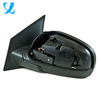 High quality precision customized plastic injection mould for auto side rear view mirror cover