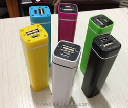 new style lipstick 2600mah power stick for mobile phone