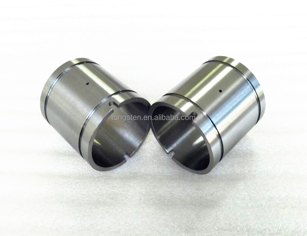 OEM tungsten carbide bushings/shaft sleeves/cylinder bush bushing sleeve