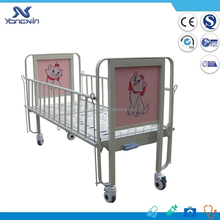 Children bed,Manual Mobile Children Medical Bed With Single Function
