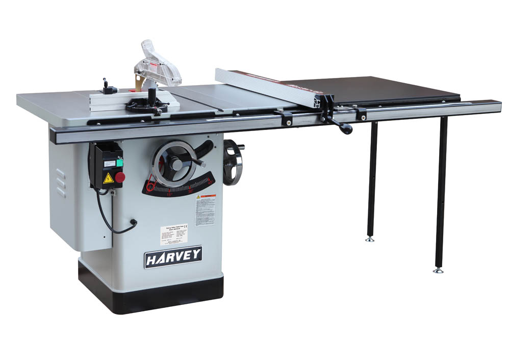 HW110LGE-50 Left Tilting Arbor Riving Knife 10 Table Saw