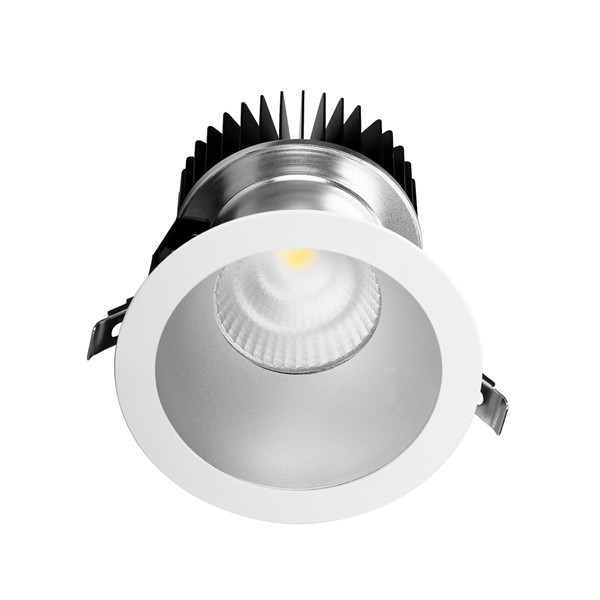 DLC Series Commercial Indoor Ceiling Lighting Good Heat Sink 50W 8 Inch LED Downlight
