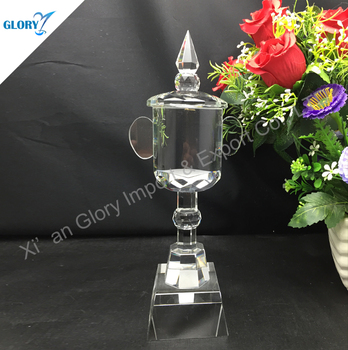 Custom Crystal Trophy Cup Award For Souvenir