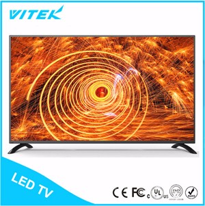 VITEK Alibaba 55inch Hot New Products Large Size 4K Curved Screen TV, Big HD 4K UHD TV Curved