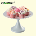 HOT SALE YZ1830 WHITE METAL CAKE STAND FOR POWDER COATING