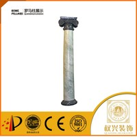 Indoor plastic round hollow columns for weddings for hall