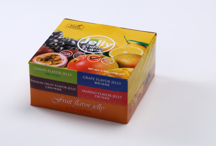 Sweet Mountain - passion fruit flavor and HACCP ISO certification fruity jelly cup
