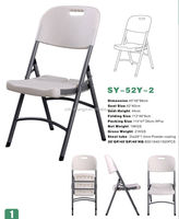 outdoor party plastic outdoor folding chairs
