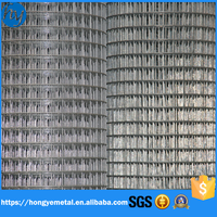 Low Price 6x6 Concrete Reinforcing 1x1 Galvanized Welded Wire Mesh