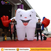 inflatable toothpaste inflatable tooth model replica for advertising