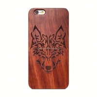 Meetyou Hot Selling Real Wooden Case For iPhone 4 4s 5 5s Custom Print Phone Cases