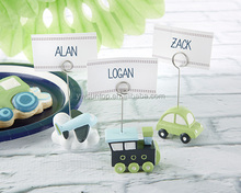 Precious Cargo Transportation Place Card Holders - Assorted
