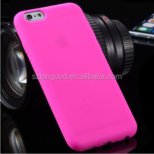 Original Silicone Phone Case For Apple iPhone 6s , Ultra Thin Luxury Case cover for Iphone6
