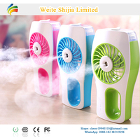 35ml rechargeable water mist 5v dc mini fan