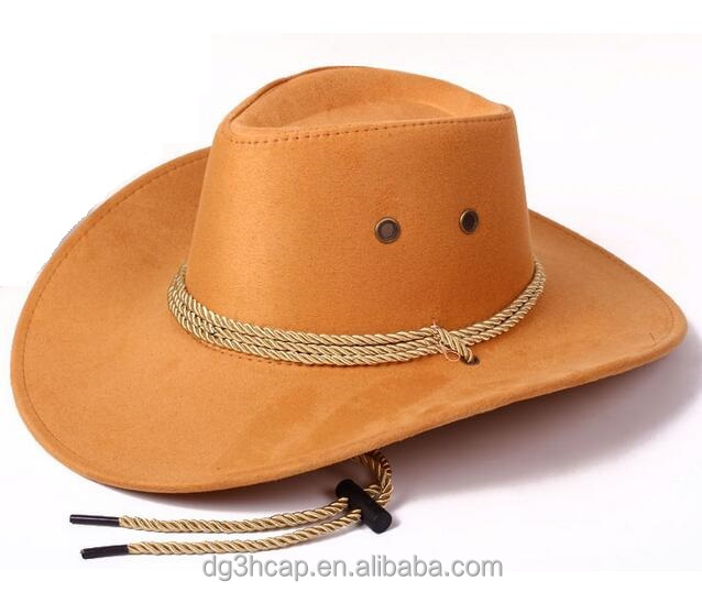 PU Fabric Western Hat