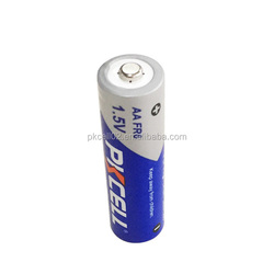 Li-FeS2 1.5V 2900mAh R6 FR6 L91 FR14505 AA Lithium Iron Non-Rechargeable Battery FR14505 High capacity free sample