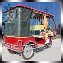 6 seater tuk tuk rickshaw electric used adult tricycle for sale