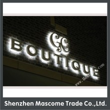 3D used outdoor back lighted channel letter signs foe business name