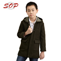 Newest design children winter clothing elegant boy coats
