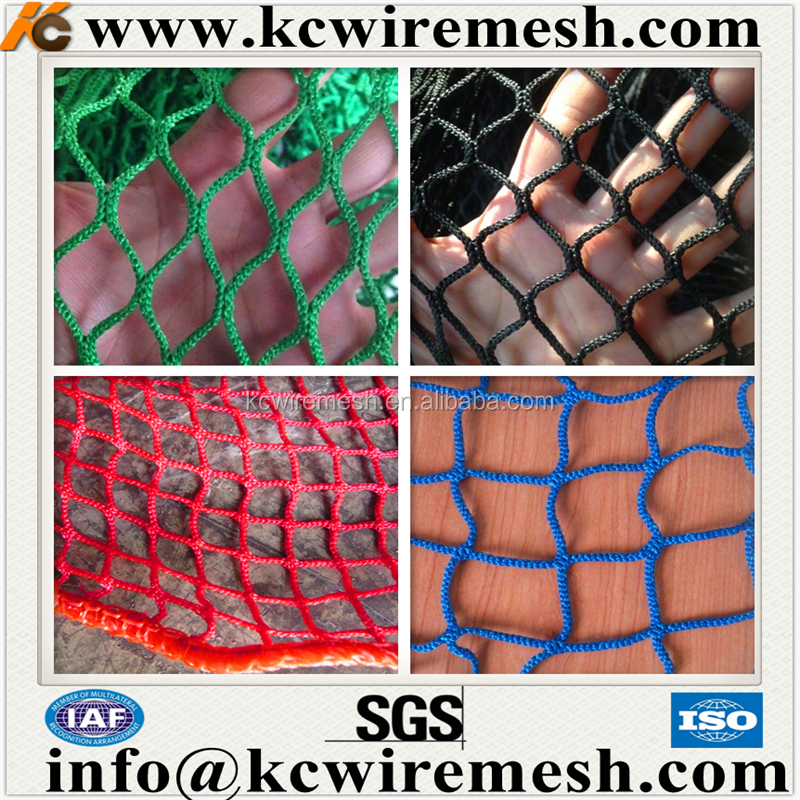 HDPE PP nylon polyester High strength Safety Net