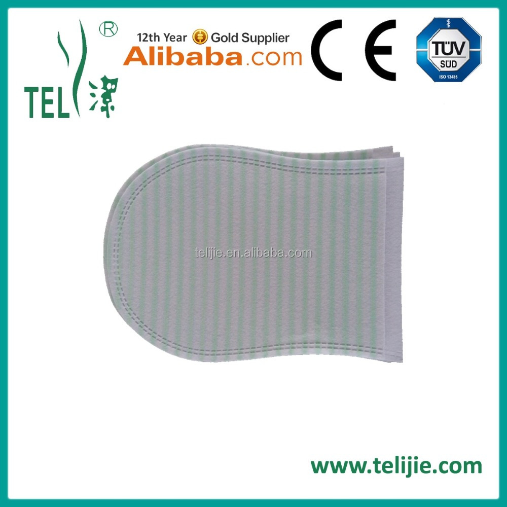 disposable washing glove/washing mitt with foam soap