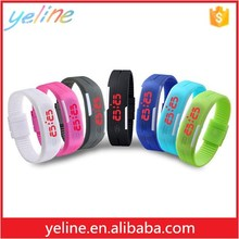 for 2016 sport digital touch led wristband watch
