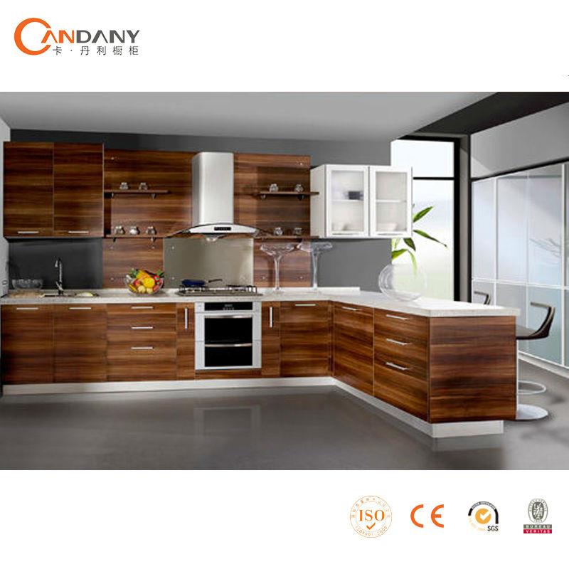 Moderno gabinete de cocina de estilo europeo de lujo de for Gabinetes de cocina modernos