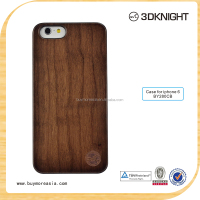 For Iphone 6 6s Sublimation Blank Phone Case 3D fashion phone antique wood bumper