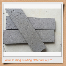 Red standard size of decorative clay brick