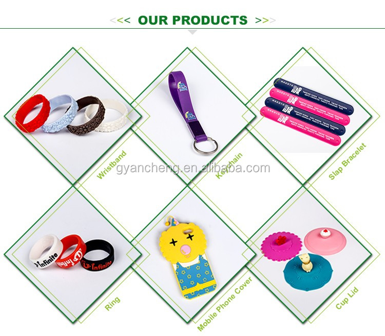 Customized embossed tire silicone rubber wristband