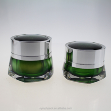 unique shaped empty acrylic cosmetic cream jar 30g 50g for personal care