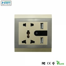 New products 2019 India 5 pins female industrial socket, wall socket power outlet, 5 pin plug and socket