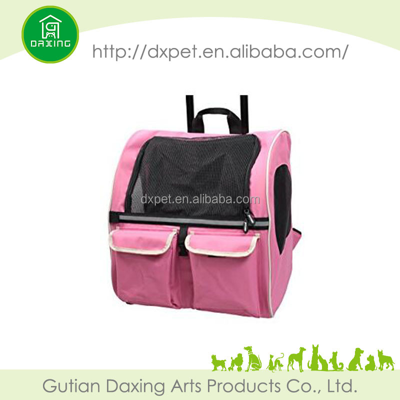 New travel pink pet carrier