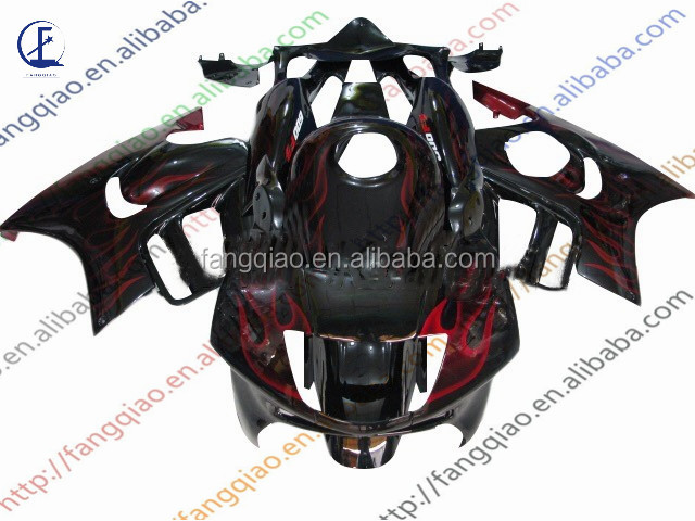 Injection Fairings CBR600 F3 1997 1998 Red Flame ABS Plastic Fairing Kit For For Honde
