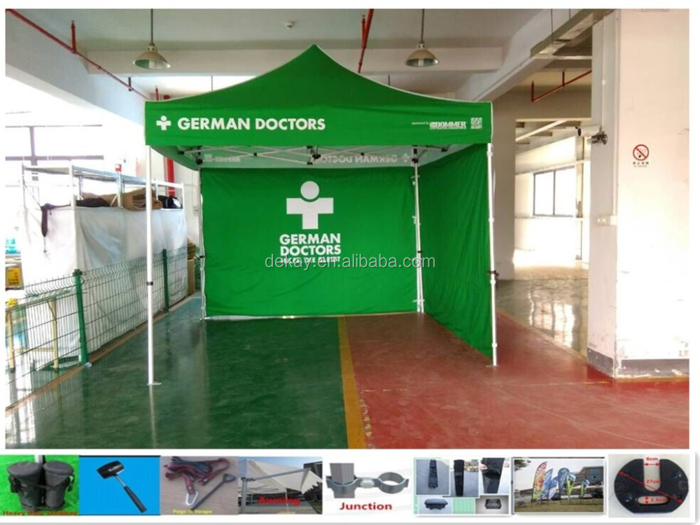 Promotional display gazebo canopy tent outdoor advertising pop up beach tent