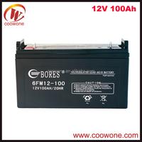 Sealed Plastic Waterproof 12V 100AH 200AH Solar Battery Box